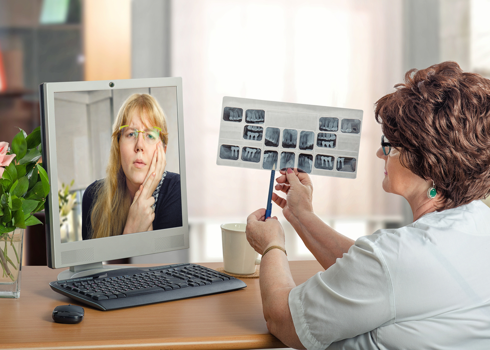 Telehealth includes dental care, physical and occupational therapy, and more.